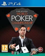 Pure Hold'em World Poker Championships (Playstation 4) NEW & Sealed