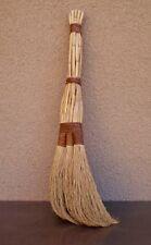 Vintage Handmade Farmhouse Wooden Whisk Broom