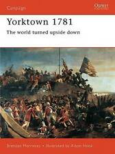 Yorktown 1781: The World Turned Upside Down (Campaign), Good Condition Book, Mor
