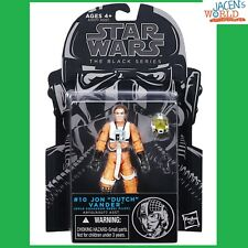 "Jon Dutch Vander #10 Star Wars Black Series 3.75"" Action Figures Wave 7"