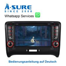 Autoradio DVD GPS Mulitmedia SWC 3G VMCD BT für Audi TT 8J MK2 BOSE+ DAB+