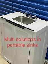 Portable sink Handwash Self contained Hot and cold water Unit Station Salon Spa