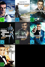 James Bond 007  SEAN CONNERY komplette Edition DR NO Goldfinger 7 DVD Collection