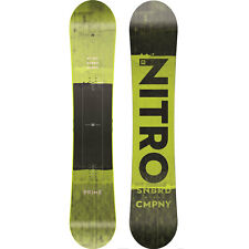 Snowboard Nitro 2018 Prime TOXIC - 158cm Vert