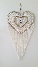 Heart shaped Shell Wall Hanging 40cm from Bali