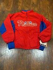 Philadelphia Phillies MLB Majestic Double Climate Jacket Men's Large L New NWT