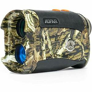 AOFAR HX-1200T Range Finder for Hunting Archery 1200 Meters Shooting Wild Plus
