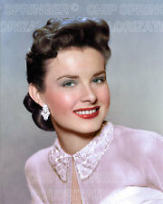 JEAN PETERS PORTRAIT #1 WEARING EARRINGS BEAUTIFUL COLOR PHOTO BY CHIP SPRINGER