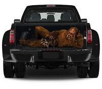 Vinyl Truck Tailgate Wrap Full Color Graphics Decal Sasquatch Big Foot Sticker