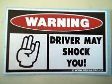 FUNNY SHOCKER WARNING DIESEL DUALLY PICKUP TRUCK CAR ATV SLED STICKER DECAL 128A