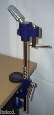 "Mannequin Head holder Blue Metal clamp adjustable 8""-12"" N72000 LMS"