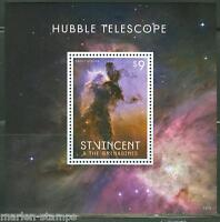ST. VINCENT GRENADINES  2013 HUBBLE TELESCOPE SOUVENIR SHEET I  MINT NH