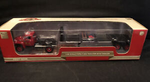 First Gear Motor City / Ford F-800 Truck and trailer 1:50 50-3078