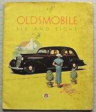 OLDSMOBILE SIX & EIGHT USA Car Sales Brochure c1935 Sedan SPORT COUPE