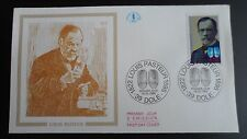 FDC Enveloppe Premier Jour - CEF - Louis Pasteur - 18/02/1995 - Dole