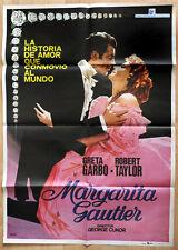 """orginal Plakat Poster """"Kameliendame"""" der erfolgreichste Kinofilm von Greta Garbo"""