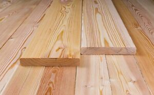 Muster! Glattkantbretter 21 x 140 mm, Sibirische Lärche, Massivholz, Fassade.