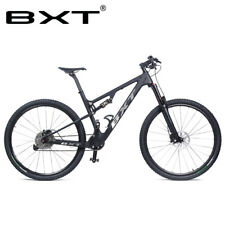 New Ultralight Full Suspension Carbon Mountain Bike 29er Bicycle Complete Bike