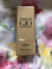Giorgio Armani ACQUA DI GIO ABSOLU EDP 0.5oz / 15ml New In SEALED BOX