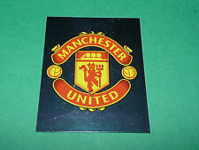 N°372 BADGE MANCHESTER UNITED MERLIN PREMIER LEAGUE FOOTBALL 2007-2008 PANINI