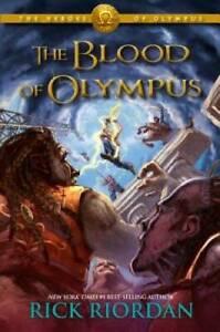 The Heroes of Olympus, Book Five The Blood of Olympus - Paperback - VERY GOOD