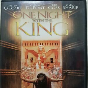 ONE NIGHT WITH THE KING 2006 DVD Drama Peter O'Toole Omar Sharif FREE POSTAGE