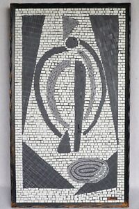 """MCM Abstract Salvador Teran Mexican Modernist Mosaic Matisse Picasso Weston 33¾"""""""