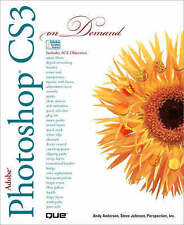 Adobe Photoshop CS3 on Demand Anderson Johnson Perspection, Inc. 9780789736918