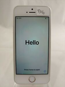 iPhone SE A1662 64GB AT&T UNLOCKED GSM Smart Cellphone White T306