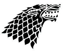 Game of Thrones House Stark stencil  A4/A5/A6 - 180 micron