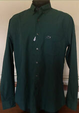 Lacoste Cotton Long Sleeve Slim Casual Shirts & Tops for Men