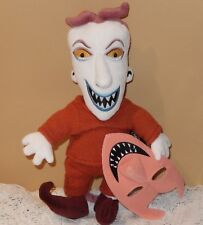 """OFFICIAL DISNEY STORE NIGHTMARE BEFORE CHRISTMAS LOCK PLUSH DOLL W/MASK 11"""" NWT"""