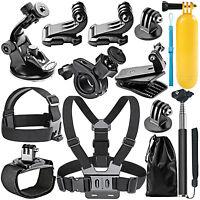 neewer 12-In-1 Outdoor Sports Accessories Kit fr GoPro Hero 4 3+ 3 2 1 SJ4000