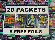 More details for 20 packs packets + 5 free foils! premier league adrenalyn xl 2021/22 panini