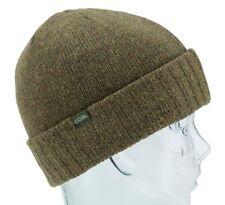 Coal Headwear THE ROWAN Unisex Lambswool Blend Cuffed Beanie Olive NEW