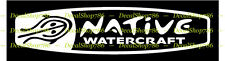 Native WaterCraft Kayaks - Outdoor Sports - Vinyl Die-Cut Peel N' Stick Decals