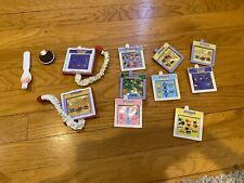 Vintage Playmates Amazing Ally Doll Adventure Ware Book & Book Cards
