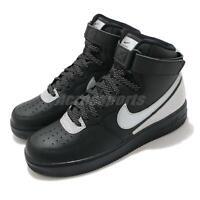 Nike Air Force 1 High 07 LV8 3M Black Reflect Silver Men Casual Shoes CU4159-001