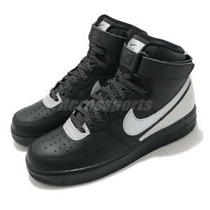 Nike Air Force 1 High 07 LV8 3M Black Reflect Silver Men Casual Shoes CU4159-001