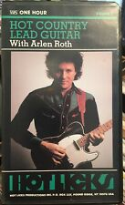 Arlen Roth Hot Country Lead Guitar - 1 hour Vhs + Insert