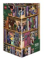Heye triangular Puzzle hy29234 - Heye PUZLES-1500 piezas-Libros,kravarik