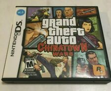 Grand Theft Auto Chinatown Wars (Nintendo DS, 2009) Complete w/ manual & POSTER