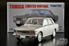 [TOMICA LIMITED VINTAGE LV-168b 1/64] DATSUN BLUEBIRD 1600 SSS (Silver)