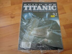 1/250 HACHETTE BUILD THE TITANIC MODEL SHIP ISSUE 92 INC PART PICTURED