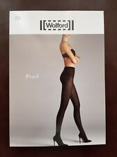 New Wolford Tights Pearl Tight Size M Black