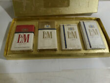 L & M cigarettes display packs vintage Philip Morris filter kings 100s lights