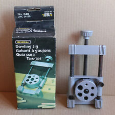 Vintage General Tools DOWLING JIG #840 - Woodworking - Instructions on Box