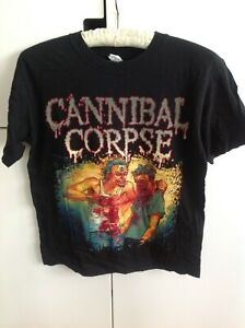 Cannibal Corpse metal hardcore double sided t-shirt Size M