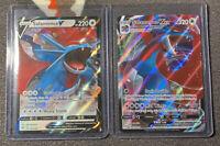 Pokemon TCG Darkness Ablaze Salamence VMAX 144/189 Ultra Rare With V143 PSA 10?