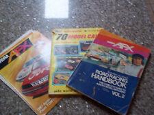 Slot Car literature, Aurora, AFX, Auto World, etc...